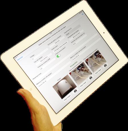 App toma de datos del certificado energético